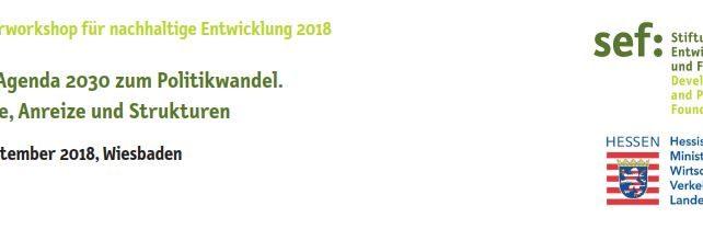 Positives Narrativ für Nachhaltigkeit – kann es das geben? Vortrag in Wiesbaden 18.09.2018
